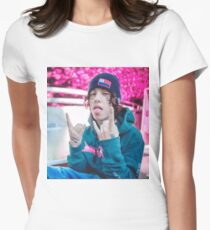 lil xan Women's Fitted T-Shirt