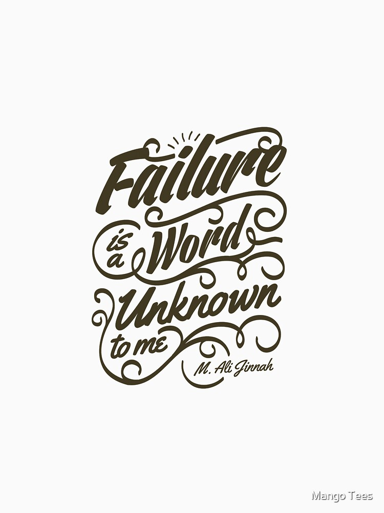 Failure is a Word Unknown to Me by sebastya