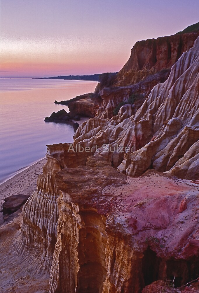 Half Moon Bay Twilight by Albert Sulzer