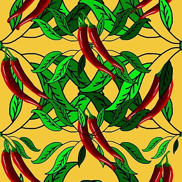 Red Chili Peppers by Gravityx9