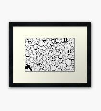 Facies by anny-d Framed Print