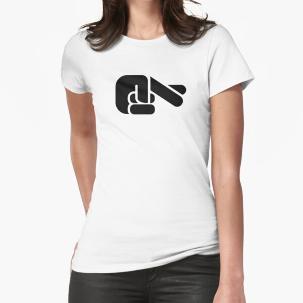 Crossed Fingers Tailliertes T-Shirt