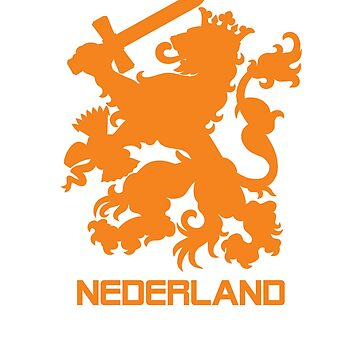 The Netherlands Jersey Shirt Soccer Oranje Dutch Holland Football by 7United