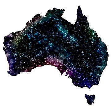 Galaxy Australia by DorkSlay