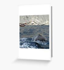 Dolphin, Khor Sham Greeting Card