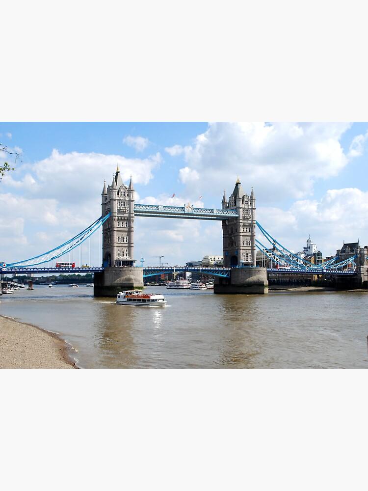 Tower Bridge London landmark river thames by santoshputhran