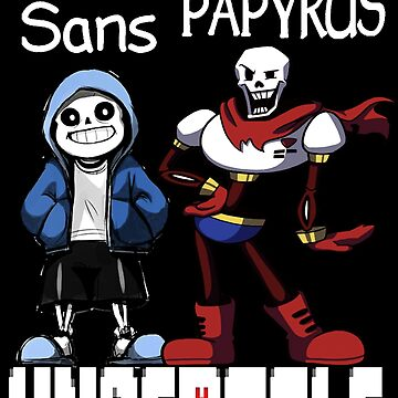 Sans and Papyrus  by aixaupup47
