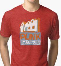 "Wizards ""Alex's Logo, Punk Dollhouse""  Tri-blend T-Shirt"