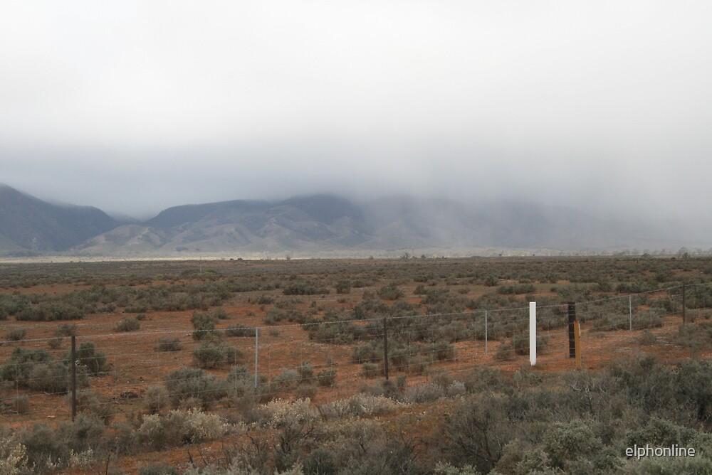 Storm over Southern Flinder's Ranges. by elphonline