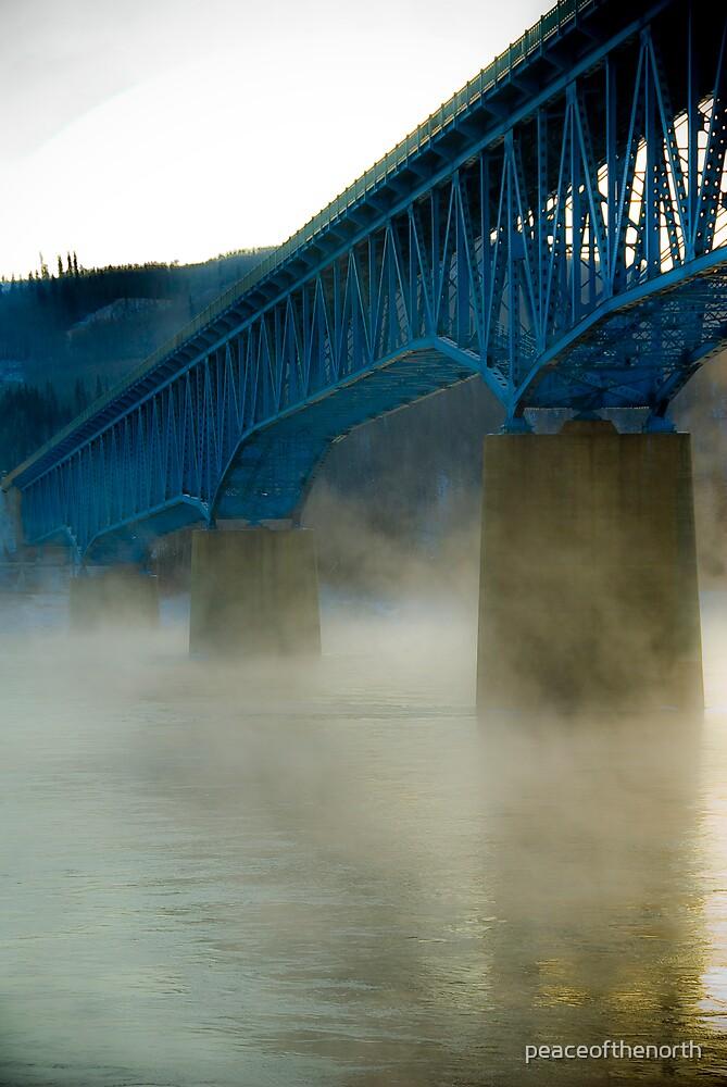 Peace River Bridge by peaceofthenorth