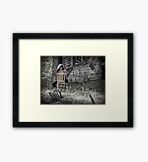 My Mama's Necklace Framed Print