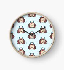 Dustin Stranger Things Sticker Clock