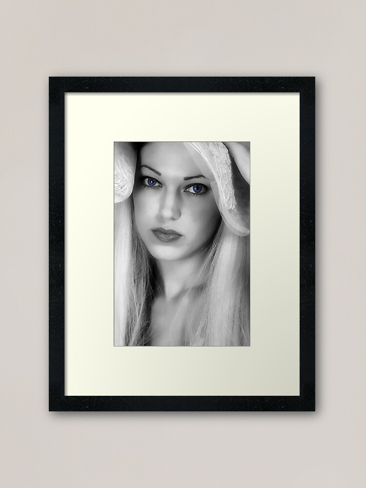 Alternate view of Creative Portraiture Framed Art Print
