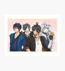 AkaTouken Crossover Art Print