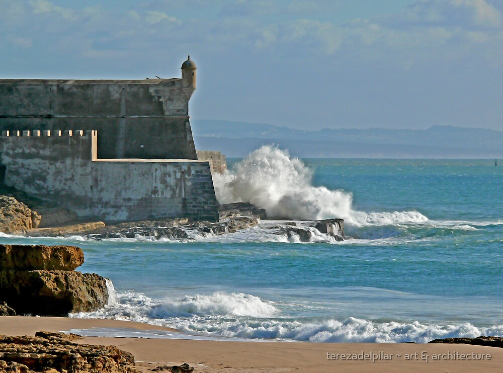 Wave on the fortress by terezadelpilar ~ art & architecture
