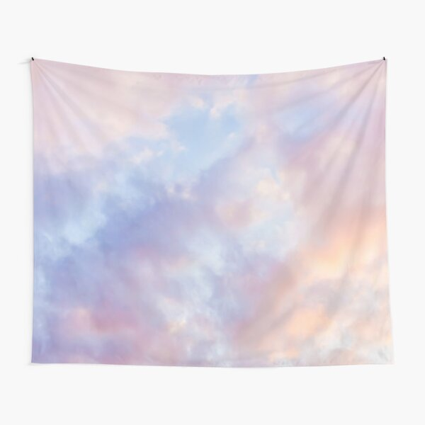 Pink sky Tapestry