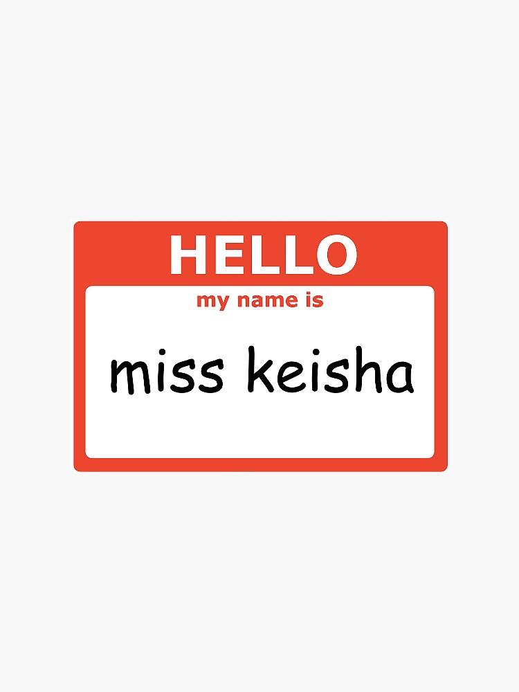Miss Keisha Vine by allieweek