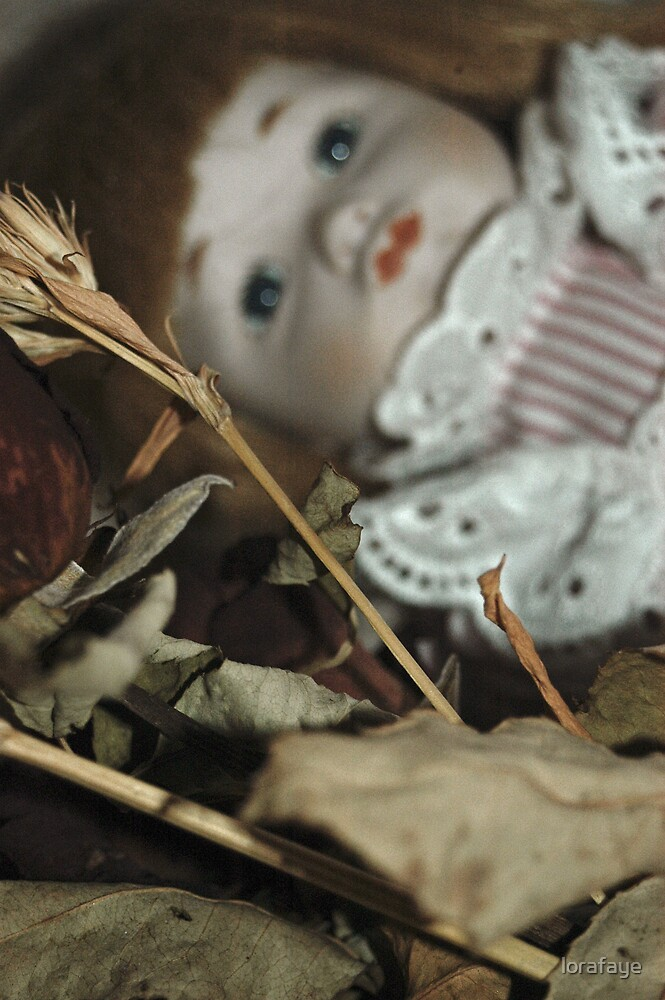 Forgotten Doll by lorafaye
