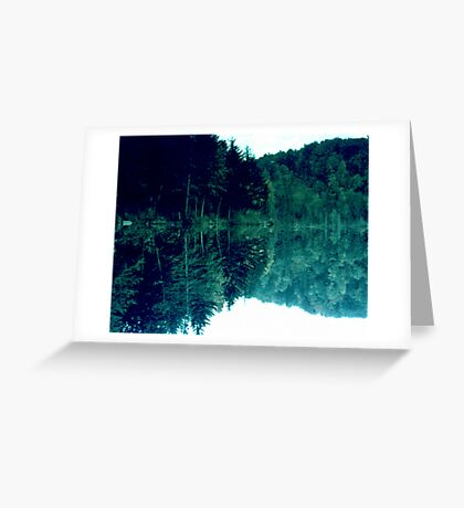 A Study in Green Greeting Card