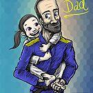 Jiu-Jitsu Dad by Meerkatsu