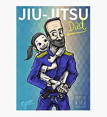 Jiu-Jitsu Dad Photographic Print