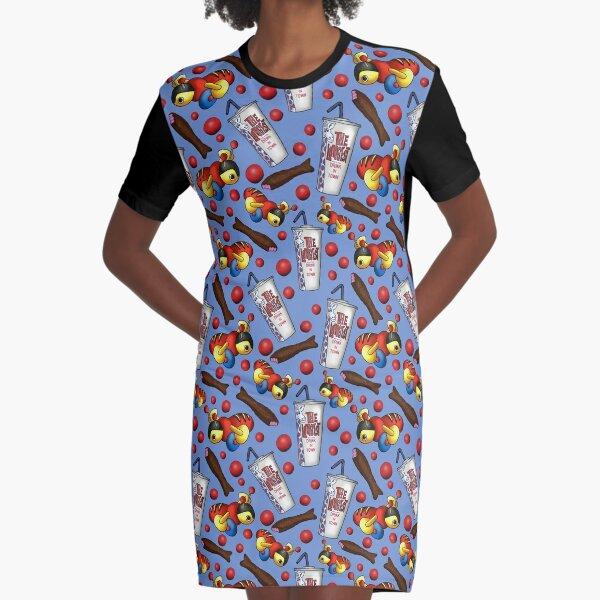 Meine Lieblingssachen - Kiwiana (Blau) T-Shirt Kleid