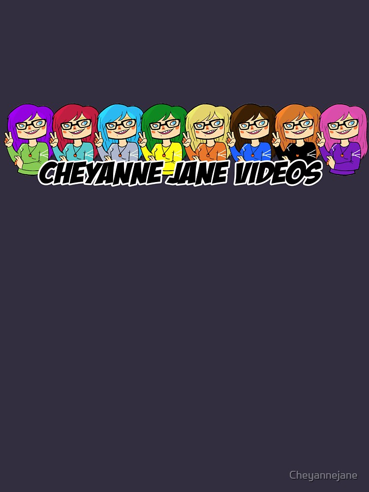 Cheyanne Jane Videos logo banner with text by Cheyannejane