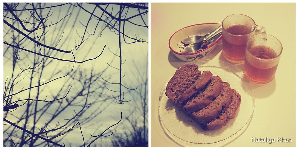 {winter evening} by Nataliya Khan