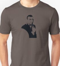 BEST PROMO HR297 James Bond (Sean Connery) Vector Illustration For Free. Best Product Unisex T-Shirt