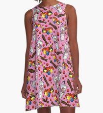 My Favourite Things - Kiwiana (Pink)  A-Line Dress