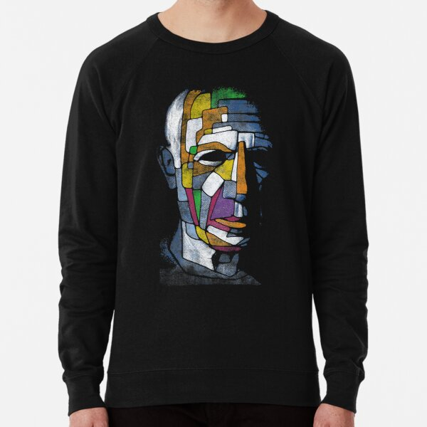 Picasso face Lightweight Sweatshirt