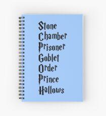Cuaderno de espiral Piedra, Cámara, Prisionero, Copa, Orden, Príncipe, Reliquias
