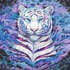 fading - white galaxy tiger von Schiraki