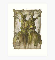 Treebeard Art Print