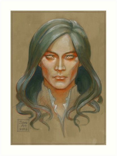 Fëanor colour study by BohemianWeasel