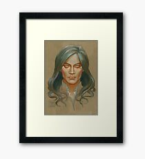 Fëanor colour study Framed Print