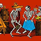 Day of the Dead, dance till you drop by monsterplanet