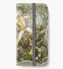 Elves & Orcs, the Battle Under the Trees iPhone Wallet/Case/Skin