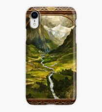 The Ring is taken to Rivendell iPhone XR Case