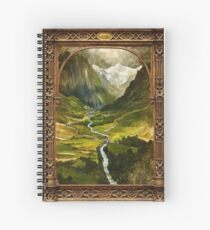 The Ring is taken to Rivendell Spiral Notebook