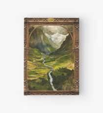 The Ring is taken to Rivendell Hardcover Journal