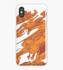 Fire Monster Dragon - PK Charizard iPhone Case