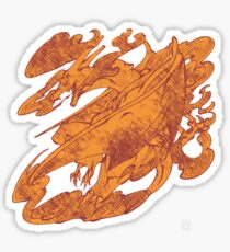 Fire Monster Dragon - PK Charizard Sticker