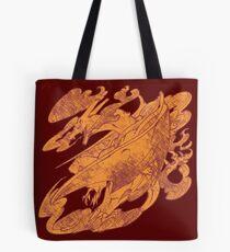 Fire Monster Dragon - PK Charizard Tote Bag