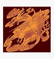 Fire Monster Dragon - PK Charizard Photographic Print