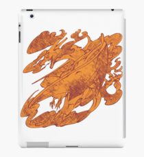 Fire Monster Dragon - PK Charizard iPad Case/Skin