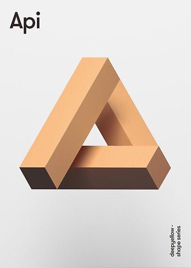 Api Poster - Deepshape Series by deepyellow