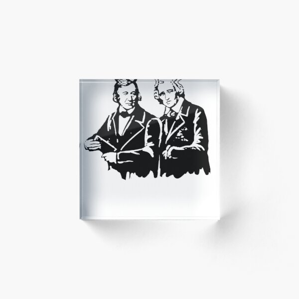 BROTHERS GRIMM Acrylic Block