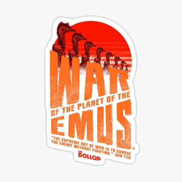 The Dollop - Emu War Sticker