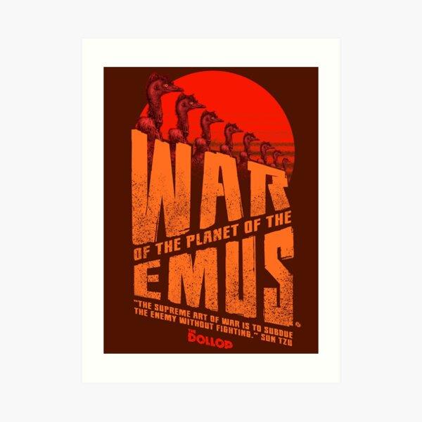 The Dollop - Emu War Art Print